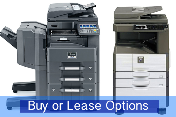 Buy or lease a copier