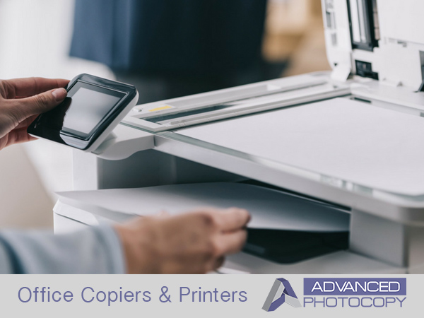 Office copiers and printers