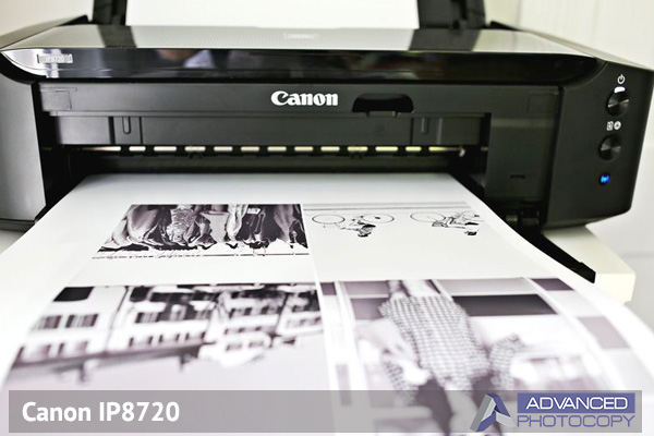 Wide format printer Canon IP8720 Advanced Photocopy