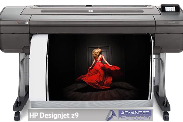 Wide format printer HP designjet Z9
