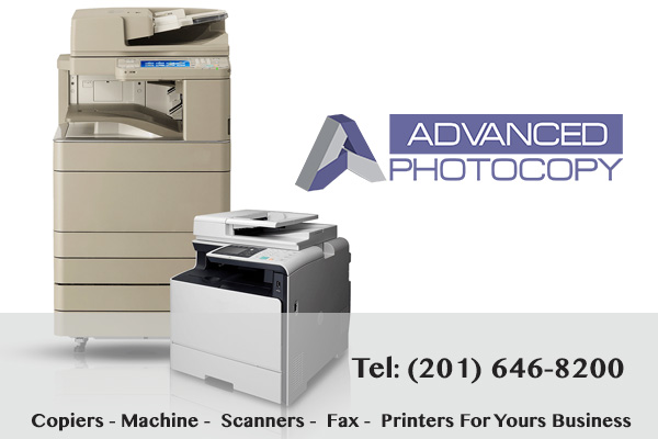 Used Copiers and Printers Advanced Photocopy NJ
