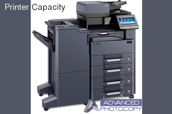 Commercial Copy Machine Printer Capacity