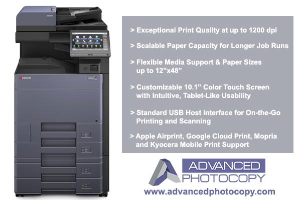 Kyocera TASKalfa 3553ci Copier Printer Advanced Photocopy