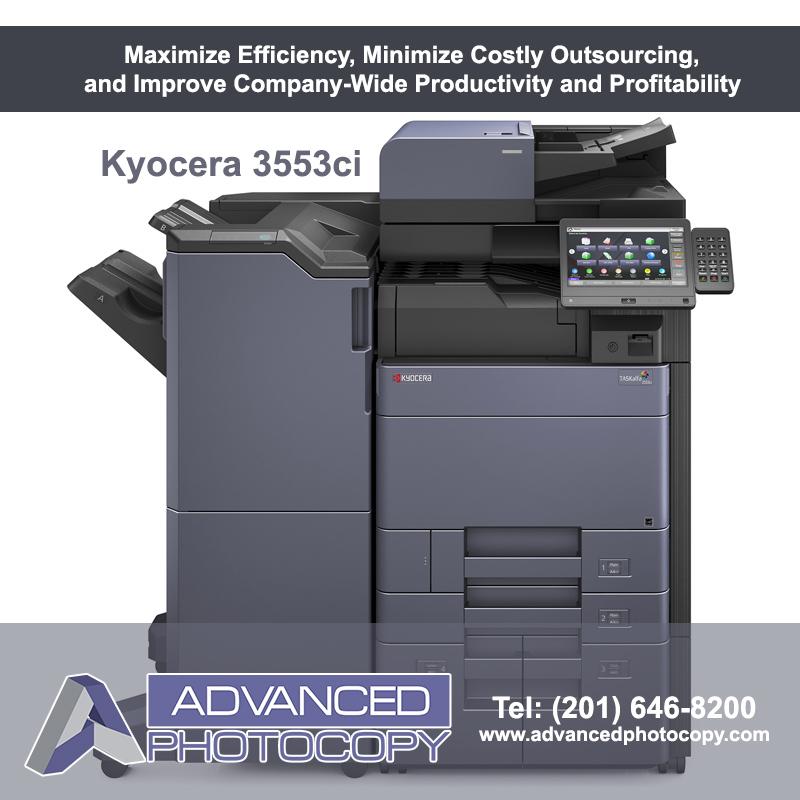 Kyocera TASKalfa 3553ci Copier Printer Color Advanced Photocopy