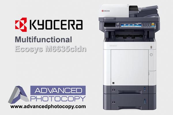 Kyocera Ecosys Multifunctional M6635cidn Advanced Photocopy